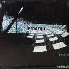 CDs de Música: LETHARGY CD ESCAPA - NUEVO. PRECINTADO - ELECTRONICA, TECHNO -. Lote 278289238