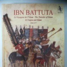 CDs de Música: JORDI SAVALL, HESPÉRION XXI. IBN BATTUTA, EL VIAJERO DEL ISLAM. DOS CD. Lote 278289593
