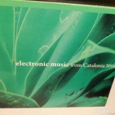 CDs de Música: CD ELECTRONIC MUSIC FROM CATALONIA 2010 ( ARBOL & FIBLA, BAGUL, ADYO, PETERMANN, OLDER, WOOKY ETC.. Lote 278295553