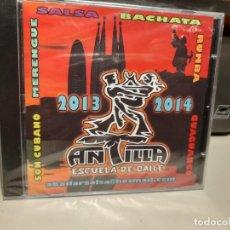 CDs de Música: CD ANTILLA - ESCUELA DE BAILE ( 2013-2014) BACHATA, SALSA, RUMBA, SON CUBANO,MERENGUE, ETC. Lote 278295663