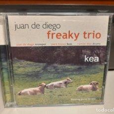 CDs de Música: CD JAZZ : JUAN DE DIEGO FREAKY TRIO : KEA. Lote 278296163