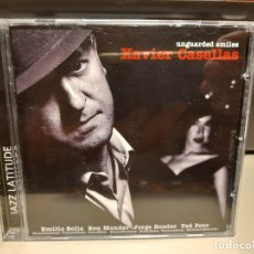 CDs de Música: CD XAVIER CASELLAS : UNGUARDED SMILES ( JAZZ LATITUDE ). Lote 278296263
