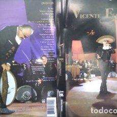 CDs de Música: VICENTE FERNANDEZ – PRIMERA FILA, CD, DVD.. Lote 278298893
