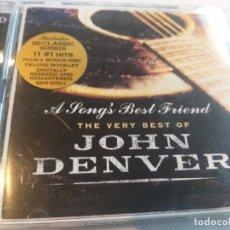 CDs de Música: JOHN DENVER - THE VERY BEST OF / 2 CDS. Lote 278316633