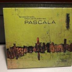 CDs de Música: CD TERELA GRADIN & MANUEL GUTIERREZ : PASCALA ( GALICIA JAZZ QUINTET ). Lote 278330978