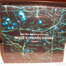 CDs de Música: CD WISE CONNECTIONS QUARTET ( JOAO SILVA & MARIANO CAMARASA ) BARCELONA JAZZ. Lote 278332028