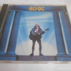 CDs de Música: CD - AC/DC - WHO MADE WHO - 9 CANCIONES - 152. Lote 278333903