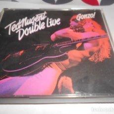 CDs de Música: DOBLE CD - TED NUGENT - DOUBLE LIVE - 155. Lote 278334218