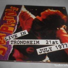 CDs de Música: CD - SEX PISTOLS - LIVE IN TRONDHEIM - 9 CANCIONES - 156. Lote 278334363