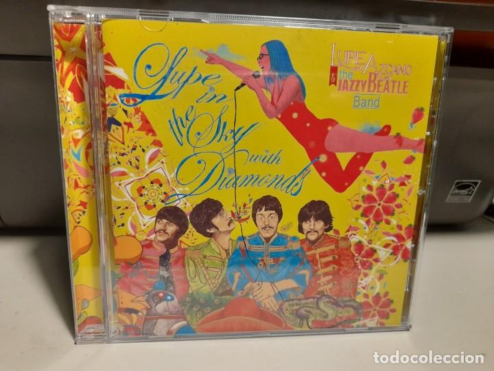 CD LUPE LAZCANO & THE JAZZY BEATLE BAND : LUPE IN THE SKY WITH DIAMONDS ( BEATLES IN JAZZ ) (Música - CD's World Music)