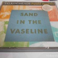 CDs de Música: DOBLE CD - TALKING HEADS - 158 - 159. Lote 278334523