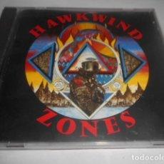 CDs de Música: CD - HAWKWIND - ZONES - 10 CANCIONES - 161. Lote 278334733