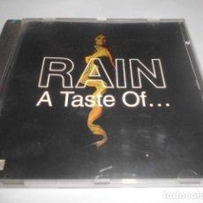 CDs de Música: CD - RAIN - TASTE OF - 11 CANCIONES - 166. Lote 278335613