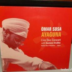 CDs de Música: CD OMAR SOSA : AYAGUNA ( LIVE DUO CONCERT ) AFRO CUBA LATIN JAZZ. Lote 278375013