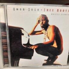 CDs de Música: CD OMAR SOSA : FREE ROOTS ( AFRO CUBA LATIN JAZZ). Lote 278375928