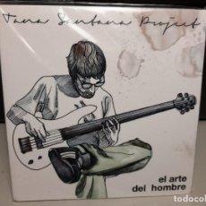 CDs de Música: CD TANA SANTANA PROJECT : EL ARTE DEL HOMBRE ( CANARIAS & EUSKADI JAZZ ). Lote 278377083