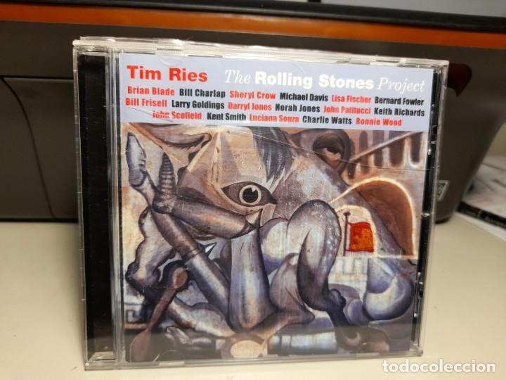 CD TIM RIES : THE ROLLING STONES PROJECT JAZZ ( KEITH RICHARDS, RONNIE WOOD, CHARLIE WATTS, ETC (Música - CD's Jazz, Blues, Soul y Gospel)