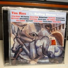 CDs de Música: CD TIM RIES : THE ROLLING STONES PROJECT JAZZ ( KEITH RICHARDS, RONNIE WOOD, CHARLIE WATTS, ETC. Lote 278378083