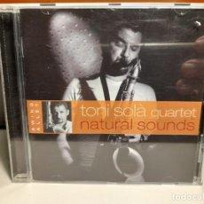 CDs de Música: CD TONI SOLA QUARTET : NATURAL SOUNDS ( CATALONIA JAZZ QUARTET ). Lote 278388568