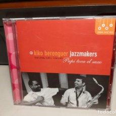 CDs de Música: CD KIKO BERENGUER JAZZMAKERS : PUPI TODA EL SAXO ( SPAIN JAZZ ). Lote 278391058