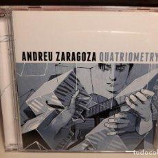 CDs de Música: CD ANDREU ZARAGOZA : QUATRIOMETRY ( BARCELONA JAZZ ). Lote 278391238