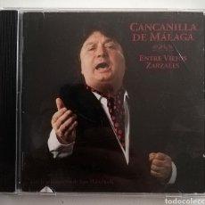 CDs de Música: CANCANILLA DE MÁLAGA - ENTRE VIEJOS ZARZALES. Lote 278404958