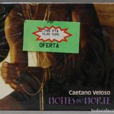 CDs de Música: CD. CAETANO VELOSO. NOITES DO NORTE AO VIVO. Lote 278421663