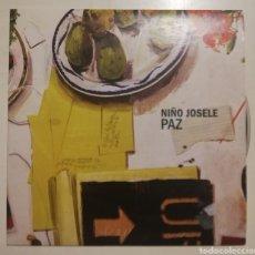 CDs de Música: NIÑO JOSELE - PAZ (SINGLE). Lote 278422293