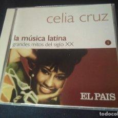 CDs de Música: CELIZ CRUZ: MUSICA LATINA. COLECCION EL PAIS. PERFECTO ESTADO. Lote 278422733