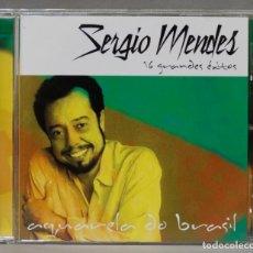 CDs de Música: CD. SERGIO MENDES. 16 GRANDES EXITOS. Lote 278422743