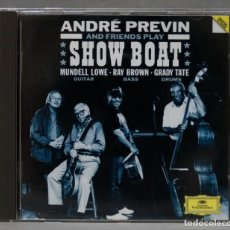 CDs de Música: CD. ANDRÉ PREVIN AND FRIENDS PLAY SHOW BOAT. Lote 278423058