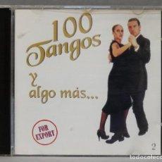 CDs de Música: CD . 100 TANGOS Y ALGO MAS. Lote 278423353