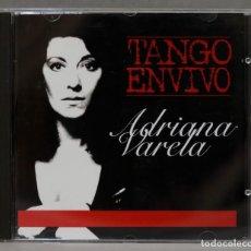 CDs de Música: CD. ADRIANA VARELA. TANGO EN VIVO. Lote 278423378