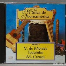 CDs de Música: CD. LA MUSICA DE IBEROAMERICA. BRASIL I. Lote 278423398
