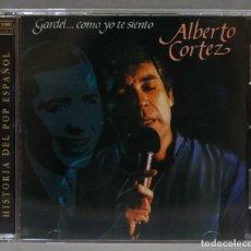 CDs de Música: CD. GARDEL...COMO YO ME SIENTO. CORTEZ. Lote 278423438