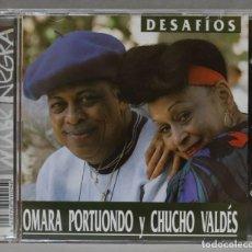 CDs de Música: CD. OMARA PORTUONDO Y CHUCHO VALDÉS. DESAFÍOS. Lote 278423523