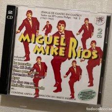CDs de Música: MIGUEL RÍOS - DOBLE CD RAMA LAMA. Lote 278427723
