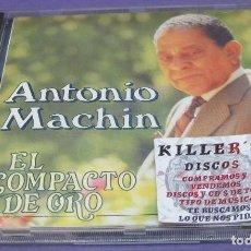 CDs de Musique: ANTONIO MACHIN - EL COMPACTO DE ORO - CD. Lote 278464188