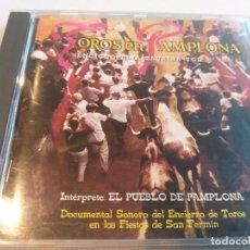 CDs de Música: TOROS EN PAMPLONA - ENCICLOPEDIA TAURINA VOL. 2 (HISPA VOX). Lote 278545443