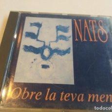 CDs de Música: NATS - OBRE LA TEVA MENT. Lote 278545578