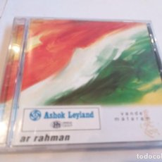 CDs de Música: AR RAHMAN - VANDE MATARAN. Lote 278545593