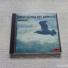 CDs de Música: VANGELIS - L´APOCALYPSE DES ANIMAUX CD. Lote 278564218