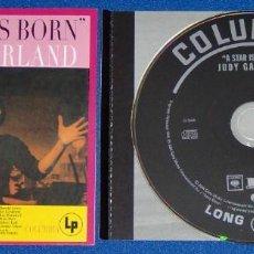 CDs de Música: HAROLD ARLEN, IRA GERSHWIN, JUDY GARLAND: A STAR IS BORN - CD REMASTERIZADO Y EXPANDIDO. Lote 278571383