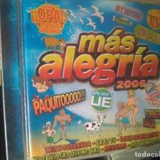 CDs de Música: MAS ALEGRIA 2006. DOBLE CD EN PERFECTO ESTADO. Lote 278591523