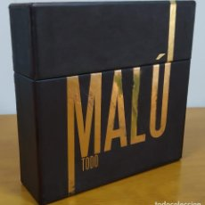 "CDs de Música: MALÚ. PRECIOSA CAJA DE 10 CD´S + 2 DVD´S + LIBRETO TITULADA: ""TODO"".. Lote 278614653"