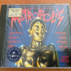 CDs de Música: METROPOLIS (FREDDIE MERCURY, PAT BENATAR, BONNIE TYLER, GIORGIO MORODER..) CD 10 TRACK (CDI19). Lote 278618768