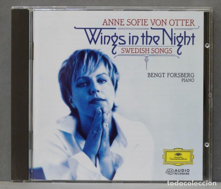 CD. WINGS IN THE NIGHT: SWEDISH SONGS. VON OTTER (Música - CD's Clásica, Ópera, Zarzuela y Marchas)
