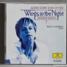 CDs de Música: CD. WINGS IN THE NIGHT: SWEDISH SONGS. VON OTTER. Lote 278623478