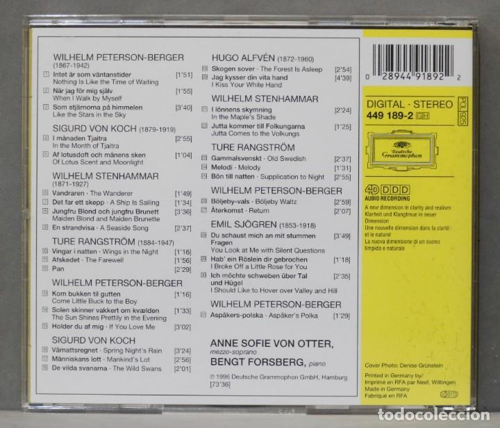 CDs de Música: CD. Wings in the Night: Swedish Songs. VON OTTER - Foto 2 - 278623478