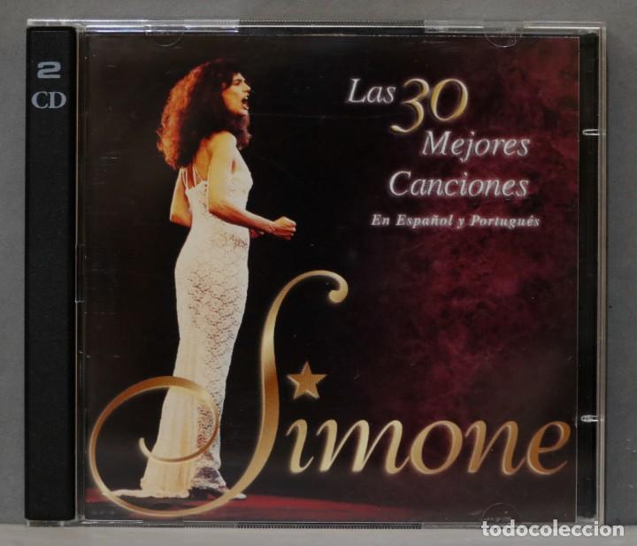 2 CD. SIMONE. LAS 30 MEJORES CANCIONES EN ESPAÑOL Y PORTUGUES (Música - CD's Melódica )